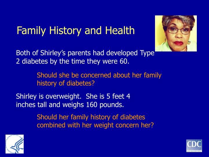 Family History and Health