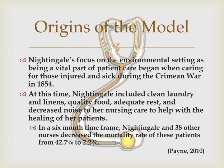 Origins of the Model