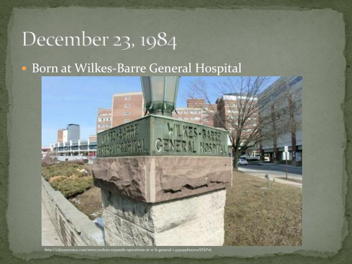 December 23, 1984