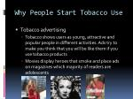 why people start tobacco use2