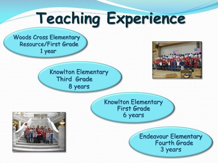 Teaching Experience