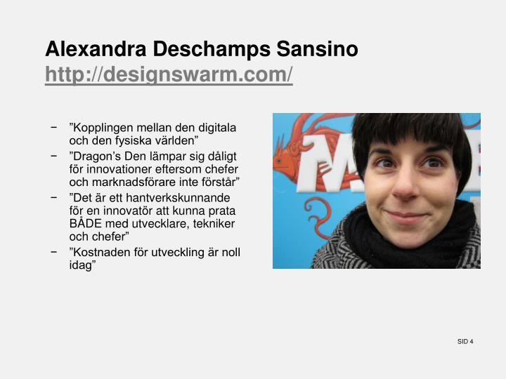 Alexandra Deschamps