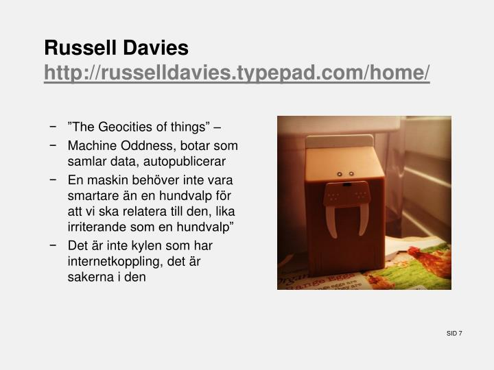 Russell Davies