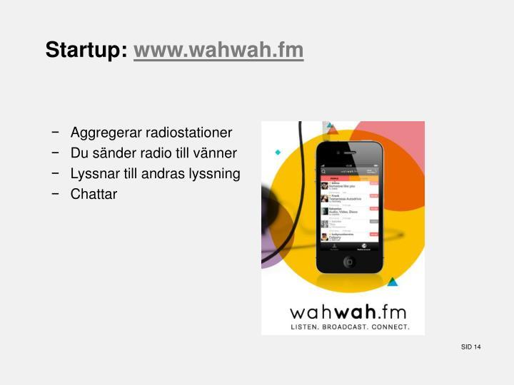 Startup: