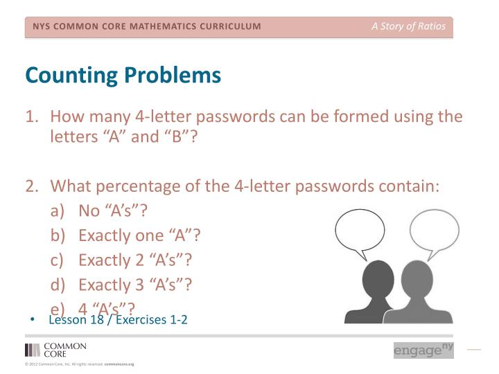 Counting Problems