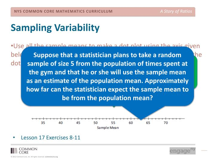 Sampling Variability