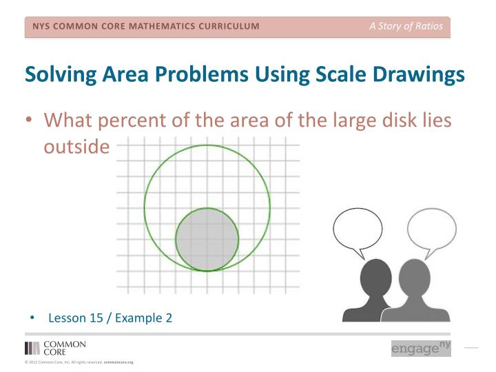 Solving Area Problems Using Scale Drawings