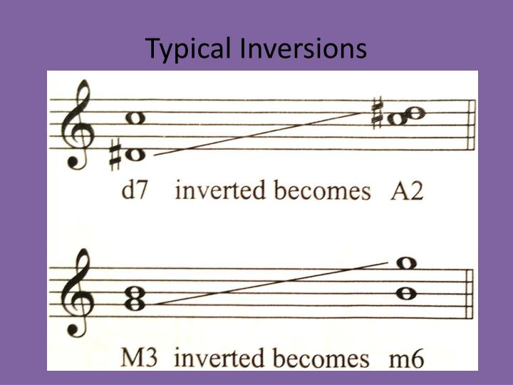 Typical Inversions