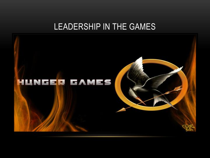 Leadership in the games