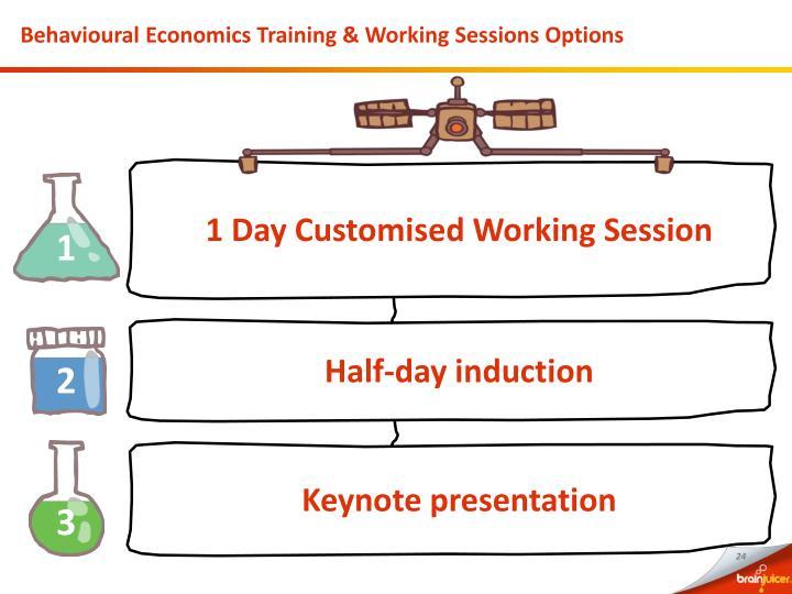 Behavioural Economics Training & Working