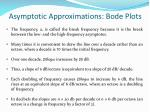asymptotic approximations bode plots1