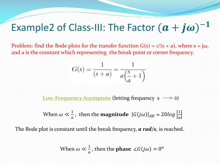Example2 of Class-III: The Factor