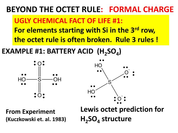 BEYOND THE OCTET RULE