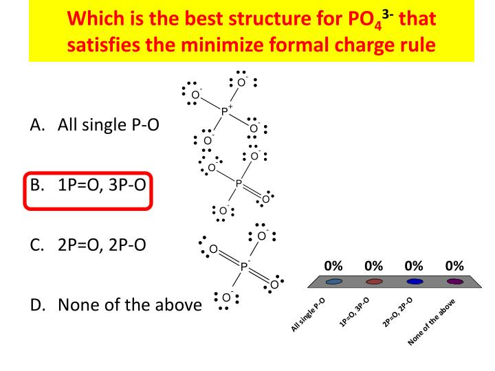 Which is the best structure for PO