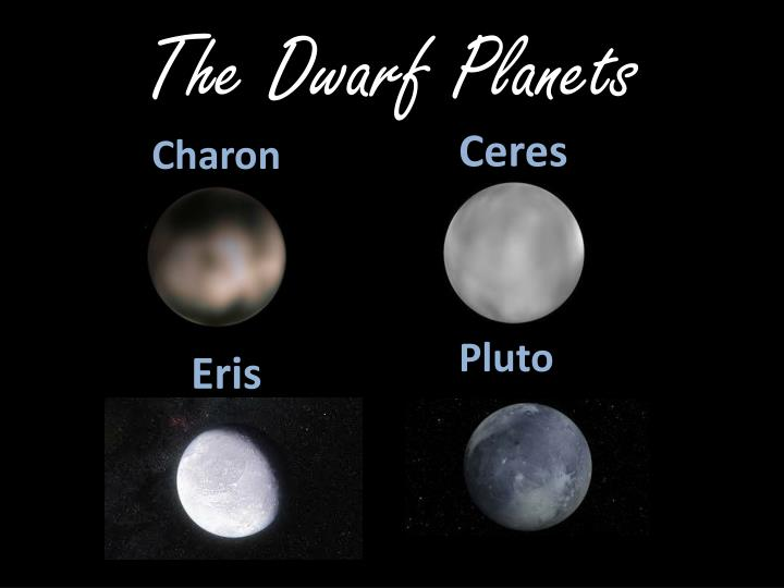 The Dwarf Planets