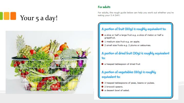 Your 5 a day!