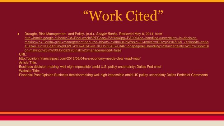 """Work Cited"""