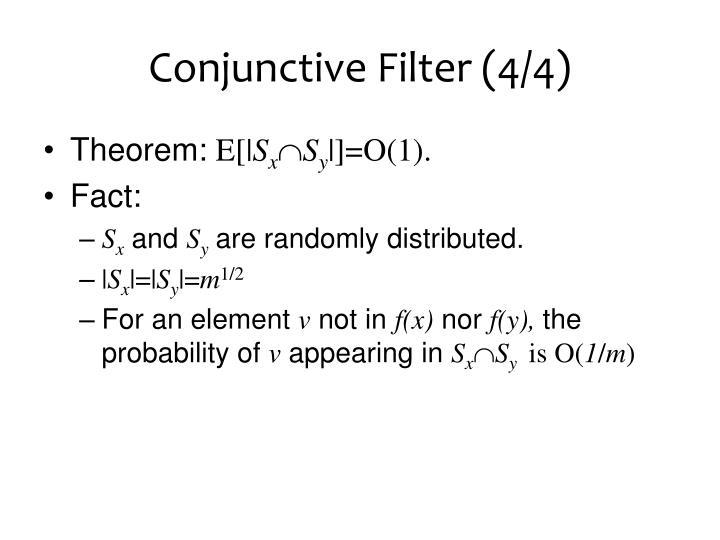 Conjunctive Filter (4/4)