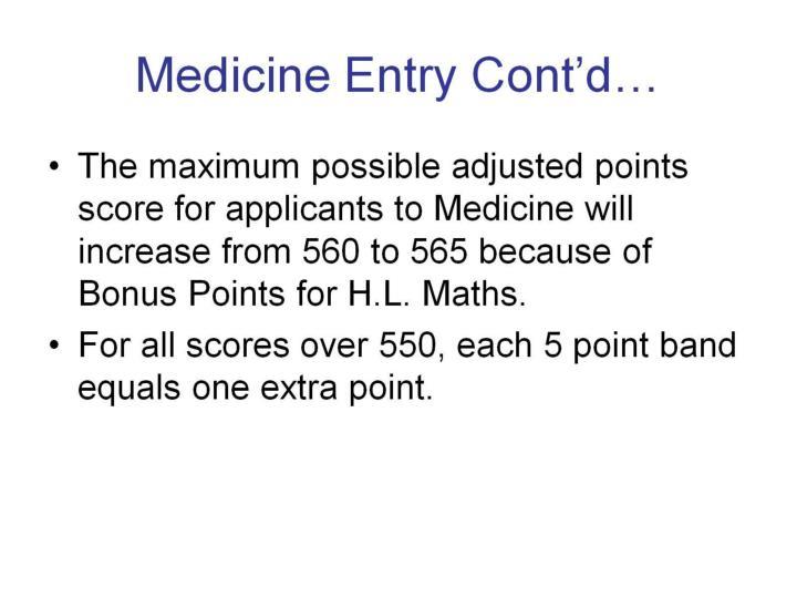 Medicine Entry Cont'd…