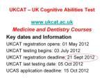 ukcat uk cognitive abilities test