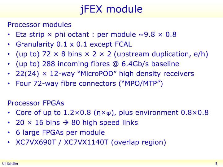 jFEX module