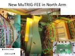 new mutrig fee in north arm