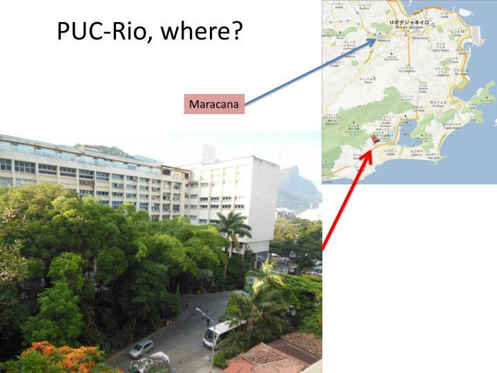 PUC-Rio, where?