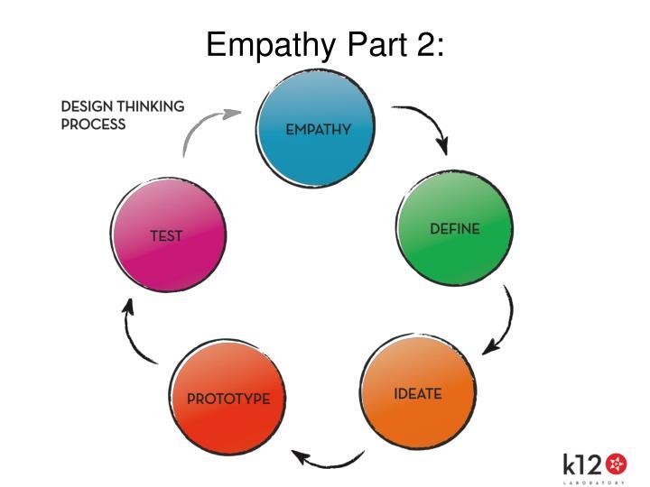 Empathy Part 2: