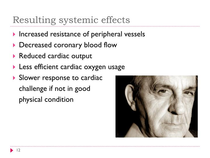 Resulting systemic effects