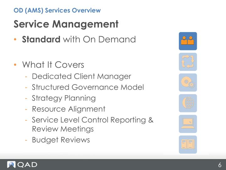 OD (AMS) Services Overview