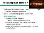 ako zakop va zombie