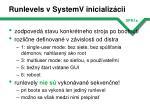 runlevels v systemv inicializ cii