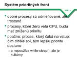 syst m prioritn ch front