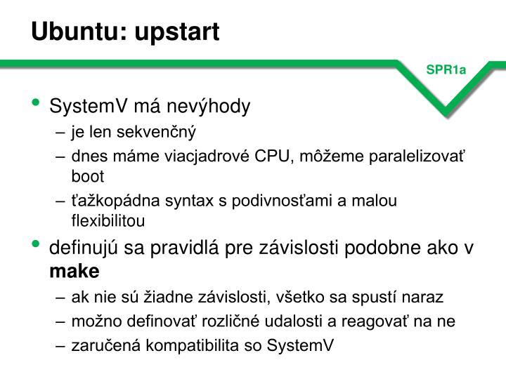 Ubuntu: upstart