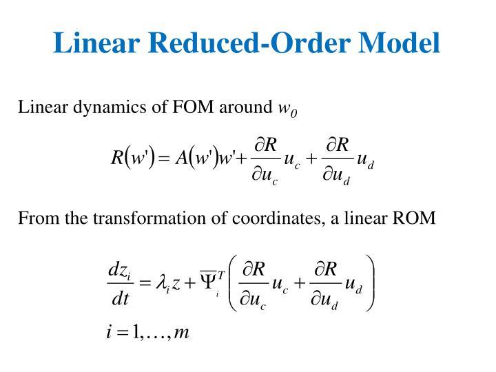 Linear Reduced-Order Model