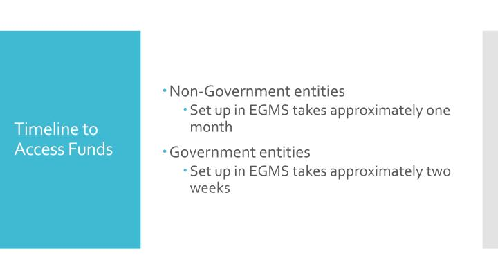 Non-Government entities