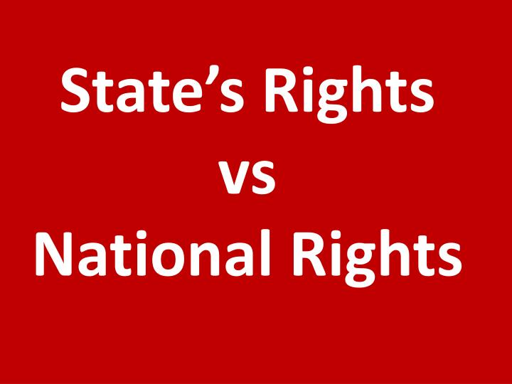 State's Rights