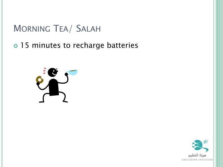 Morning Tea/