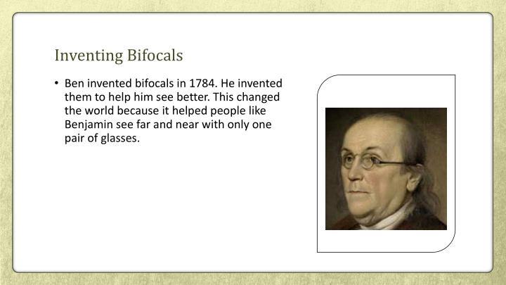 Inventing Bifocals