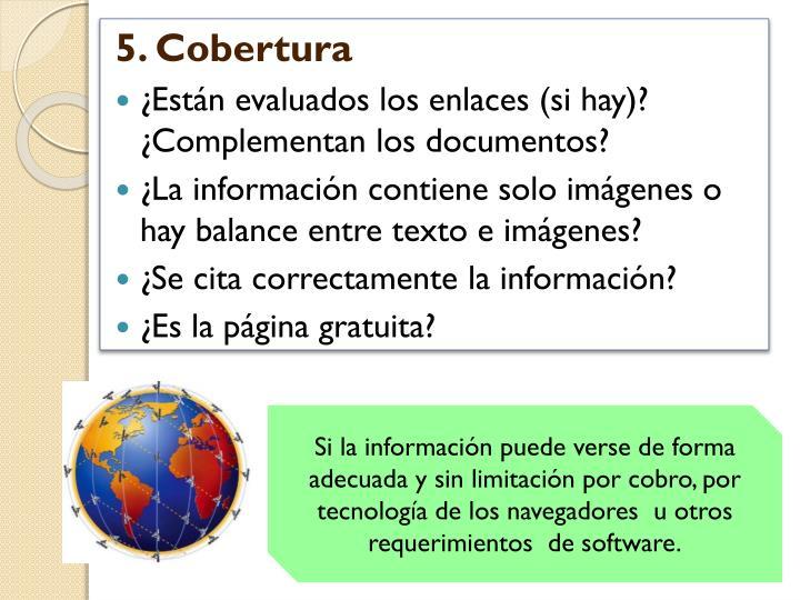5. Cobertura