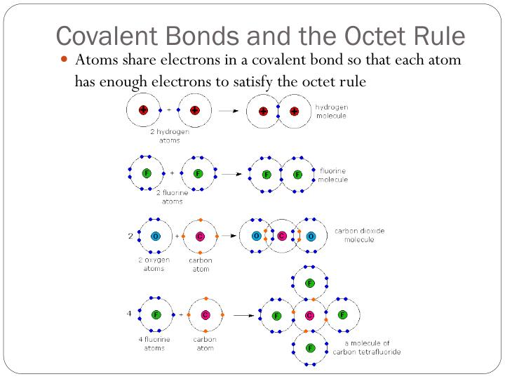 Covalent Bonds and the Octet Rule