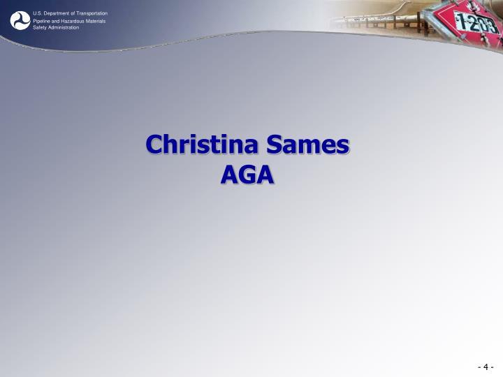 Christina Sames