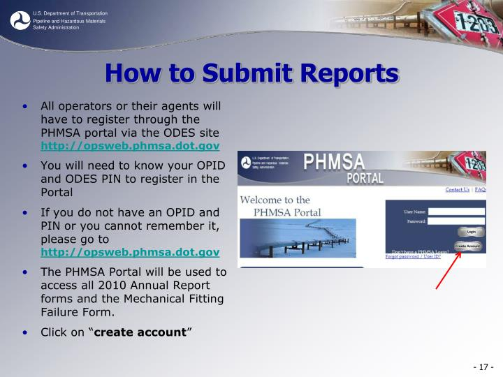 How to Submit Reports