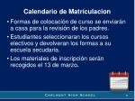 calendario de matr culacion2