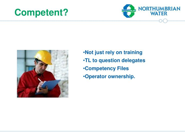 Competent?