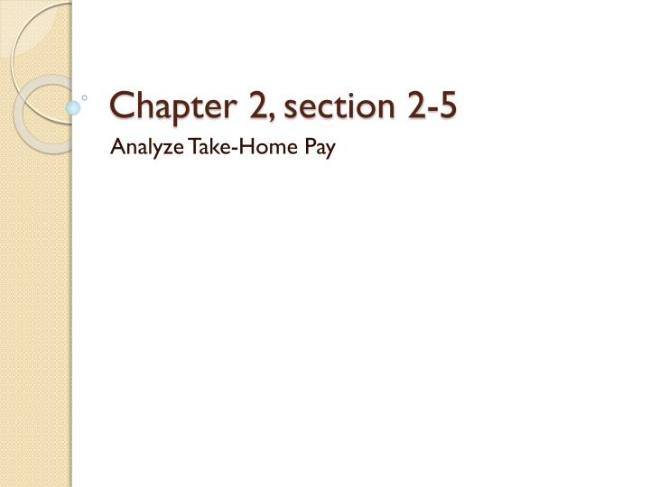 chapter 2 section 2 5