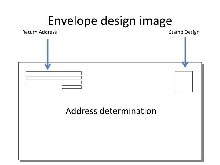 Envelope design image