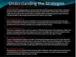 understanding the strategies