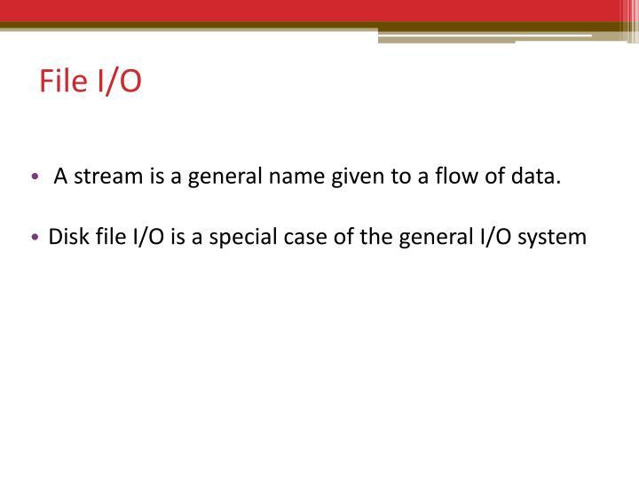 File I
