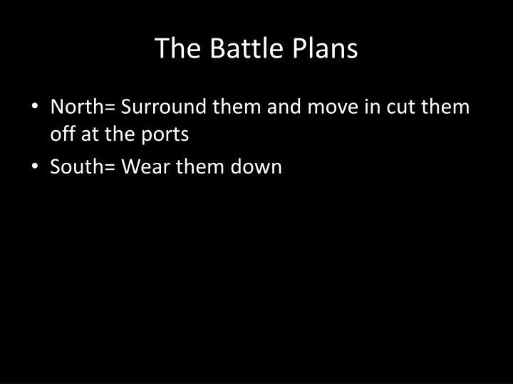The Battle Plans